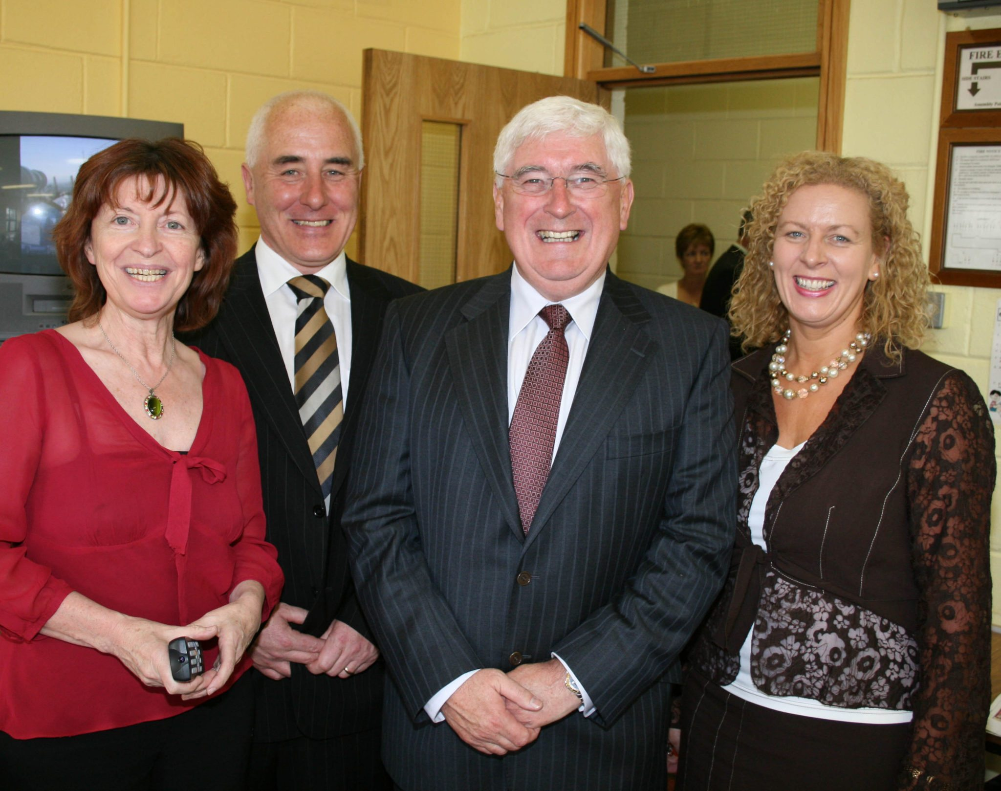 2008 : Visit of Minister of Education Mr Batt OKeeffe to NewcastleWest Post Primary School, Desmond College