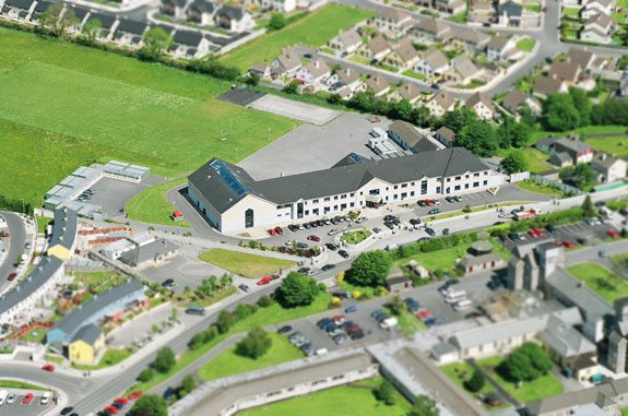 Arial View of Desmond College, Newcastle West