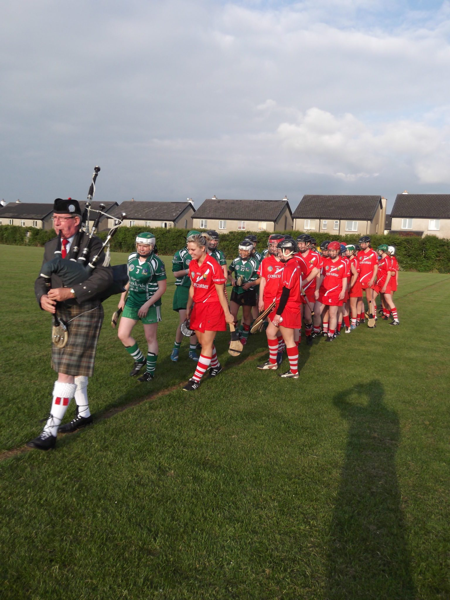 Official Opening of the Desmond College School Pitch June 2014