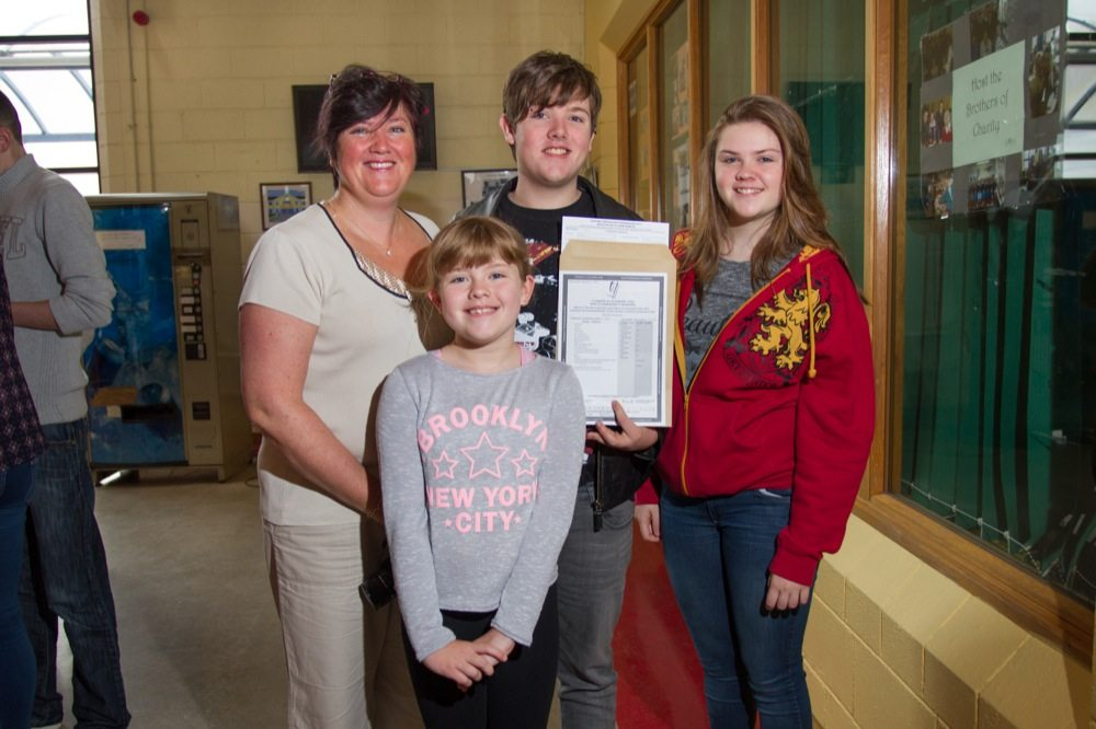 Desmond College Leaving Certificate Students 2015 receiving their results on Wednesday August 12th 2015.