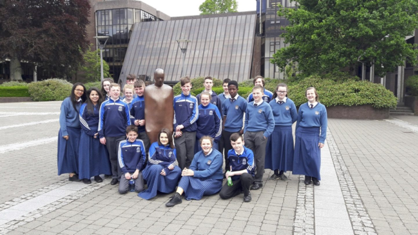 May 2017: Desmond College Second Year Students who went on Orientation Trip to UL