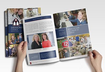 View Desmond College Brochure: Image by 4schools.ie