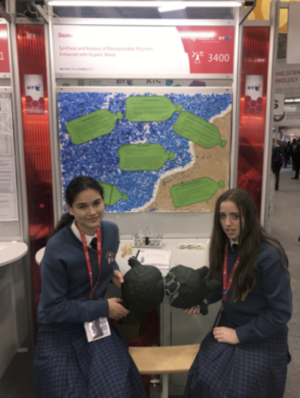 Orla Mullane and Lucy Flaherty – Second Year Students