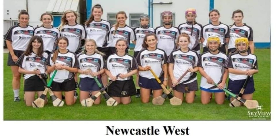 Desmond College students play in Newcastle West camogie