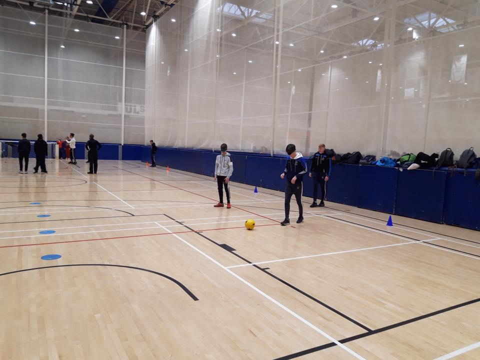 Dec 2019: TY and 3rd Years participate in UL's Midwest Sports Inclusion Day