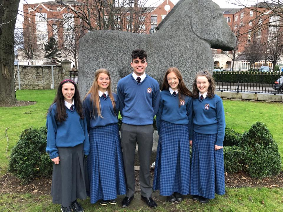 Desmond College Students at the BTYSE 2020 in Dublin